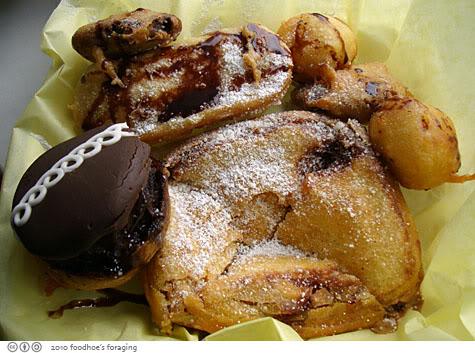 deep fried twinkie sampler