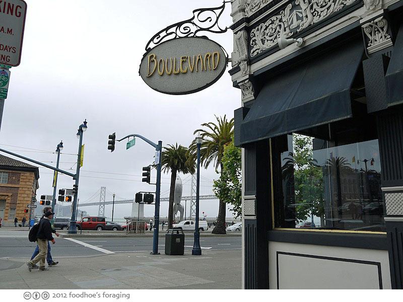 Boulevard Restaurant San Francisco Dinner Menu
