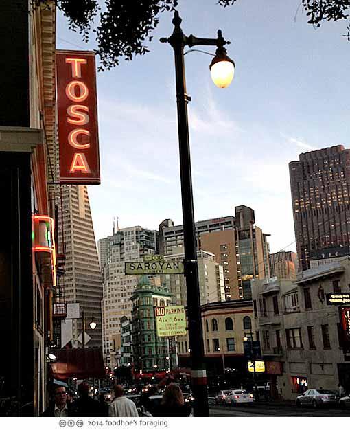Tosca Cafe North Beach San Francisco