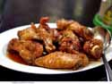 Thumbnail image for a feast of dry fried chicken wings at San Tung